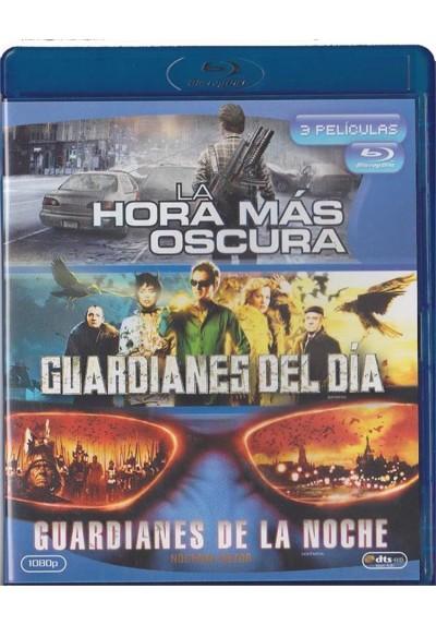 La Hora Mas Oscura / Guardianes Del Dia / Guardianes De La Noche (Blu-Ray)