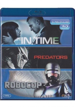 In Time / Predators / Robocop (Blu-Ray)