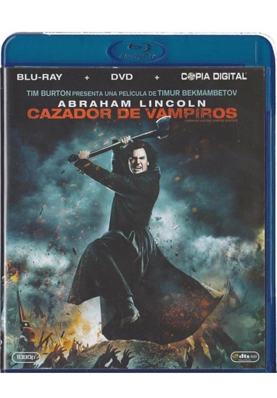 Abraham Lincoln : Cazador De Vampiros (Blu-Ray + Dvd + Copia Digital) (Abraham Lincoln: Vampire Hunter)