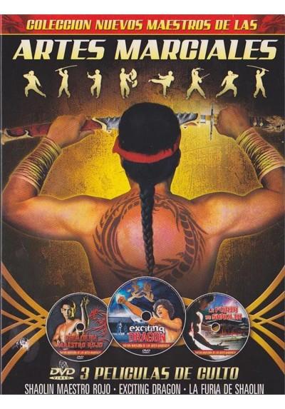 Nuevos Maestros De Las Artes Marciales : Shaolin Maestro Rojo - Coleccion