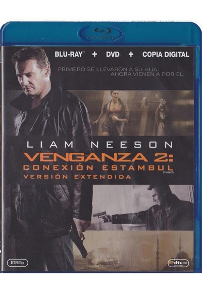 Venganza 2 : Conexión Estambul (Blu-Ray + Dvd + Copia Digital) Taken 2