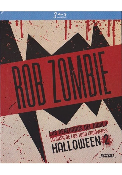 Pack Rob Zombie (Blu-Ray)