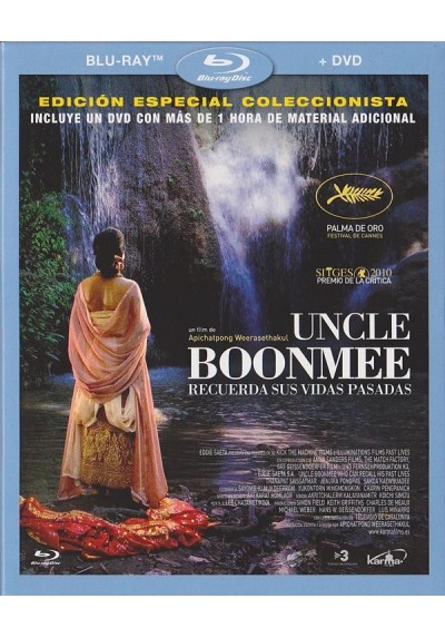 Uncle Boonmee (Blu-Ray + Dvd) (Ed.Coleccionista) (Loong Boonmee Raleuk Chat)