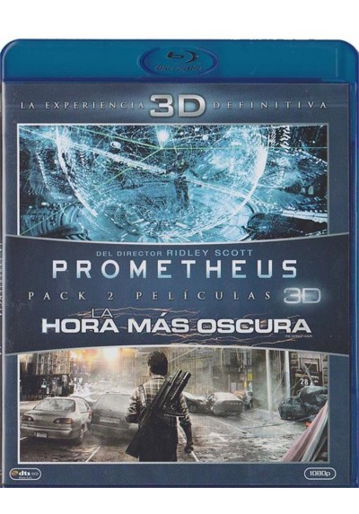 Prometheus / La Hora Mas Oscura (Blu-Ray 3d)