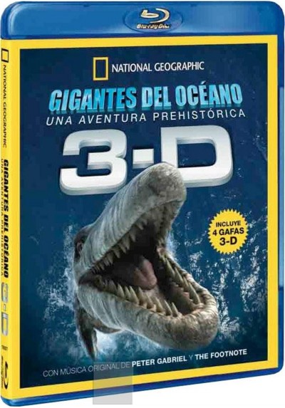 Gigantes del Oceano 3-D - Blu-ray (National Geographic)