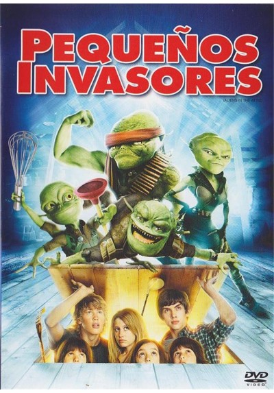 Pequeños Invasores (Aliens In The Attic)