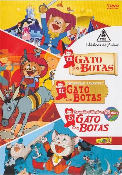 El Gato Con Botas / Continuaban Llamandole El Gato Con Botas / La Vuelta Al Mundo En 80 Dias Por El Gato Con Botas