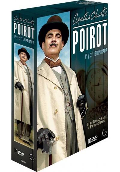 Poirot 1ª y 2ª Temporada - Agatha Chiristie