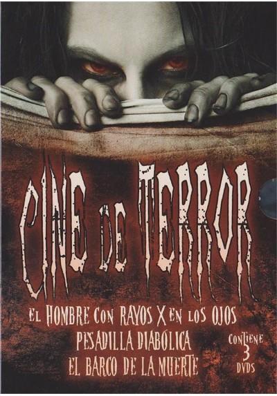 Cine De Terror (El Hombre con Rayos X en los Ojos, El Barco de la Muerte, Pesadilla Diabólica)