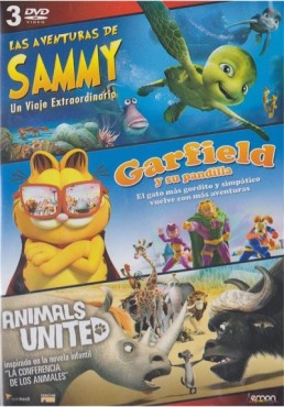 Las Aventuras De Sammy / Garfield Y Su Pandilla / Animals United