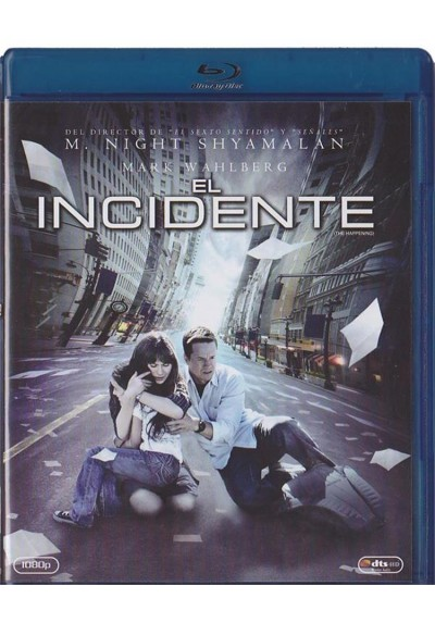 El Incidente (Blu-Ray) (The Happening)
