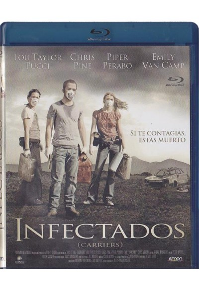 Infectados (Blu-Ray) (Carriers)