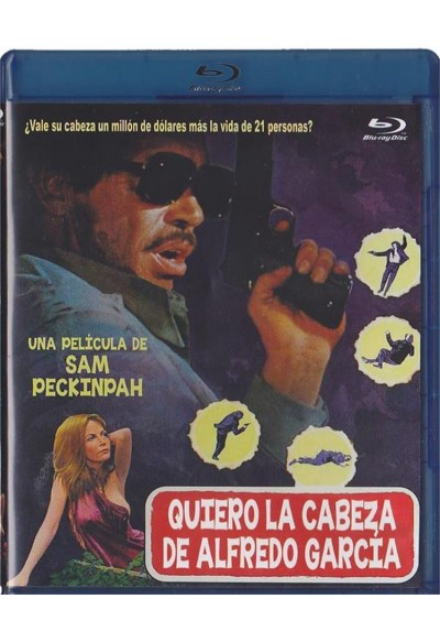Quiero La Cabeza De Alfredo Garcia (Blu-Ray) (Bring Me The Head Of Alfredo Garcia)