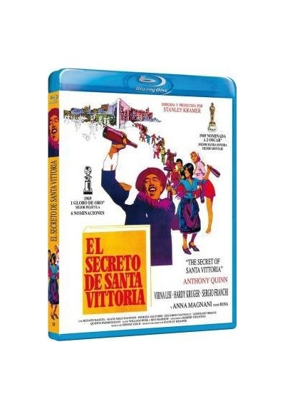 El Secreto De Santa Vittoria (Blu-Ray) (The Secret Of Santa Vittoria)