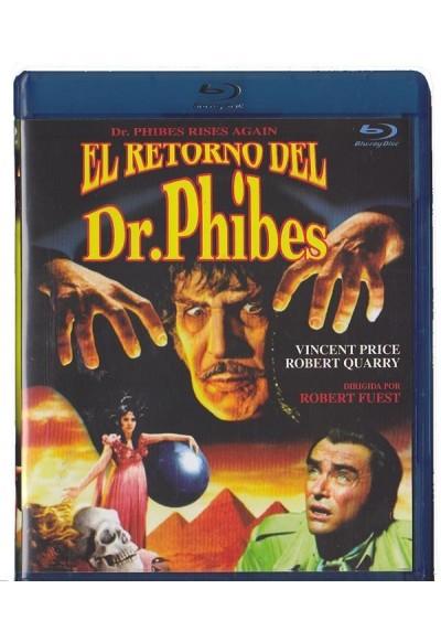 El Retorno Del Dr. Phibes (Blu-Ray) (Dr. Phibes Rises Again)