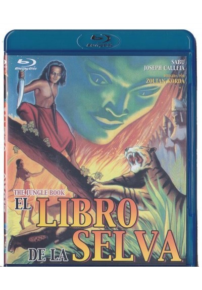 El Libro De La Selva (1942) (Blu-Ray) (The Jungle Book)