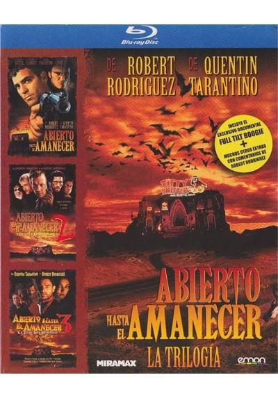 Abierto Hasta El Amanecer - La Trilogia (Blu-Ray)