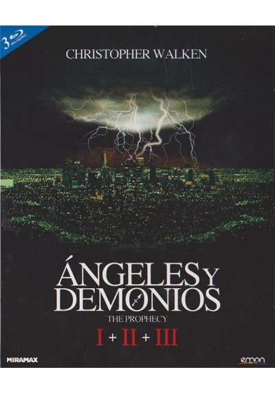 Angeles Y Demonios Trilogia + Poster (Blu-Ray)