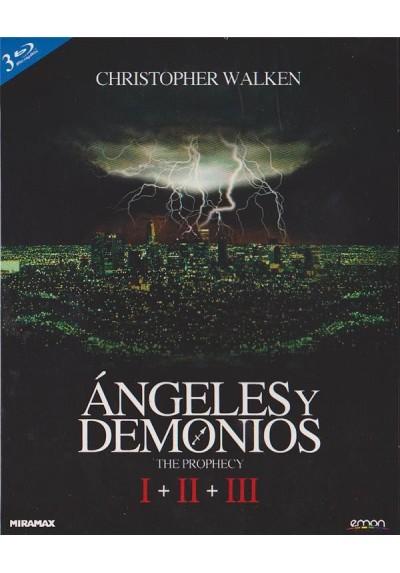 Angeles Y Demonios Trilogia + Poster (Blu-Ray)