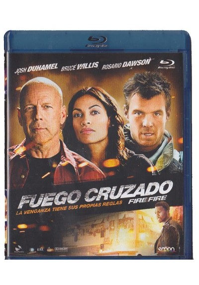 Fuego Cruzado (2012) (Fire With Fire) (Blu-Ray)