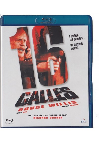 16 Calles (16 Blocks) (Blu-Ray)