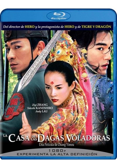La Casa De Las Dagas Voladoras (Blu-Ray) (House Of Flying Daggers)
