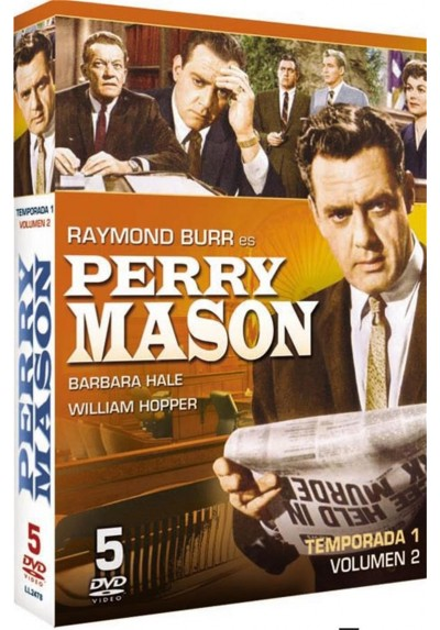 Perry Mason : 1ª Temporada - Vol. 2