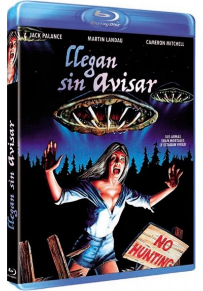 Llegan Sin Avisar (Blu-Ray) (Bd-R) (Without Warning)