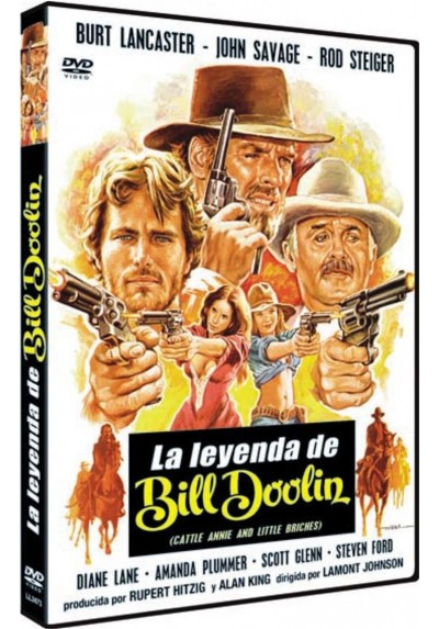La Leyenda De Bill Doolin (Cattle Annie And Little Britches)