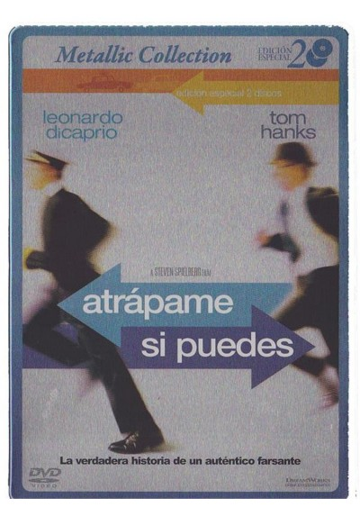 Atrapame Si Puedes (Ed. Limitada - Metalica) (Catch Me If You Can)