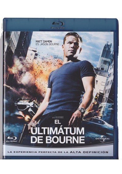 El Ultimatum De Bourne (Blu-Ray) (The Bourne Ultimatum)