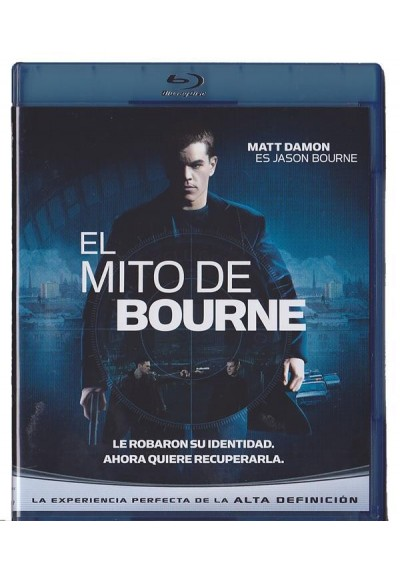 El Mito De Bourne (Blu-Ray) (The Bourne Supremacy)