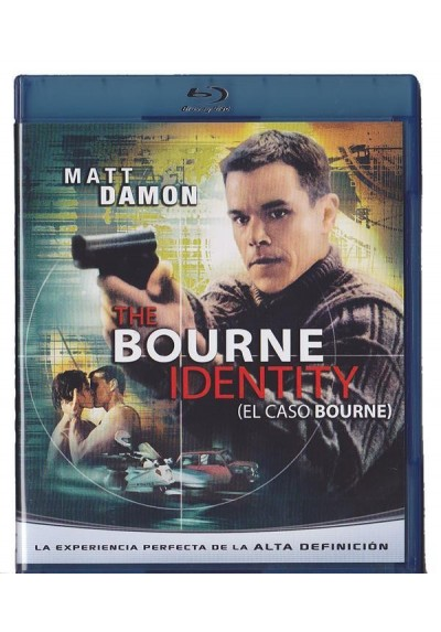 The Bourne Identity (El Caso Bourne) (Blu-Ray)