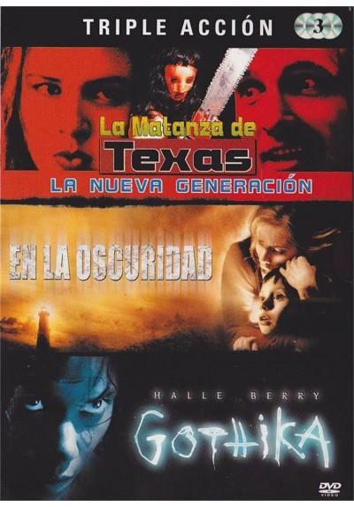 Triple Terror : La Matanza De Texas, La Nueva Generación / En La Oscuridad / Gothika