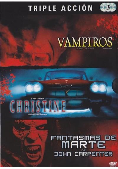 Triple Accion : Vampiros / Christine / Fantasmas De Marte