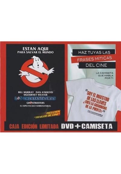 Los Cazafantasmas + Camiseta (Ed. Limitada)