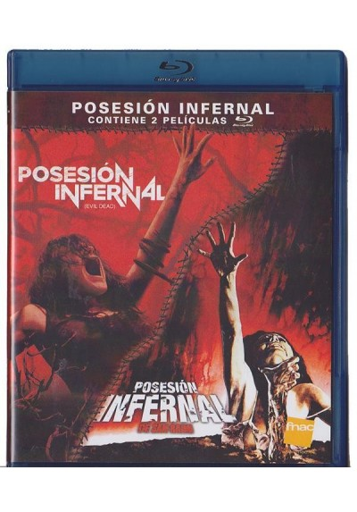 Pack Posesion infernal (1981 - 2013) (Blu-Ray)