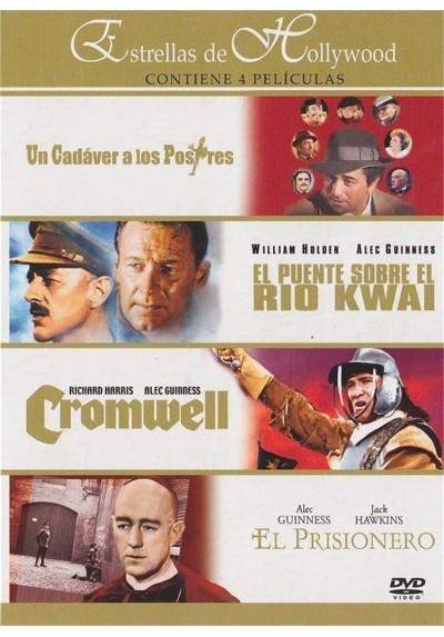 Estrellas de Hollywood : Un Cadaver A Los Postres - El Puente Sobre El Rio Kwai - Cromwell - El Prisionero