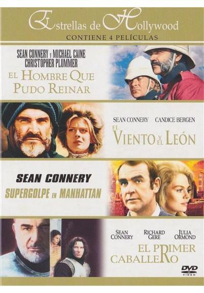 Estrellas de Hollywood : El Hombre Que Pudo Reinar - El Viento Y El Leon - Supergolpe En Manhattan - El Primer Caballero