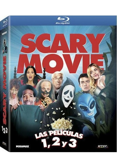 Scary Movie - Las Peliculas 1, 2 Y 3 (Blu-Ray)