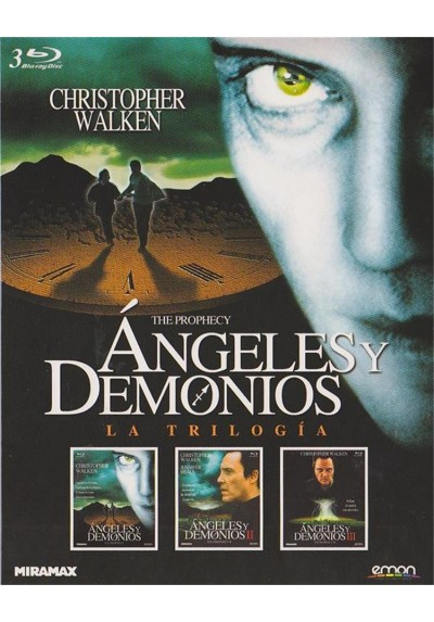 Angeles Y Demonios - Trilogia (Blu-Ray) (Pack)