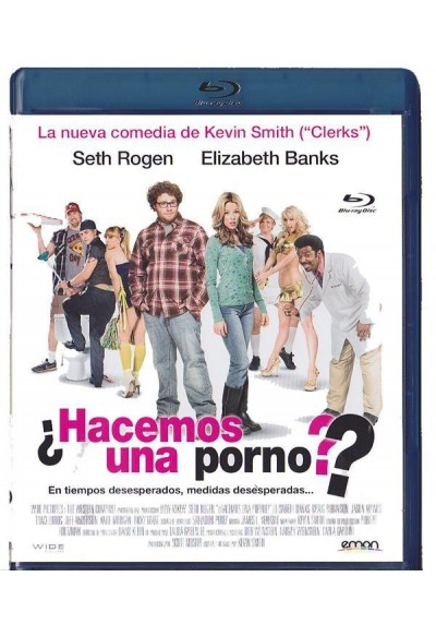 Hacemos Una Porno? (Zack And Miri Make A Porno) (Blu-Ray)