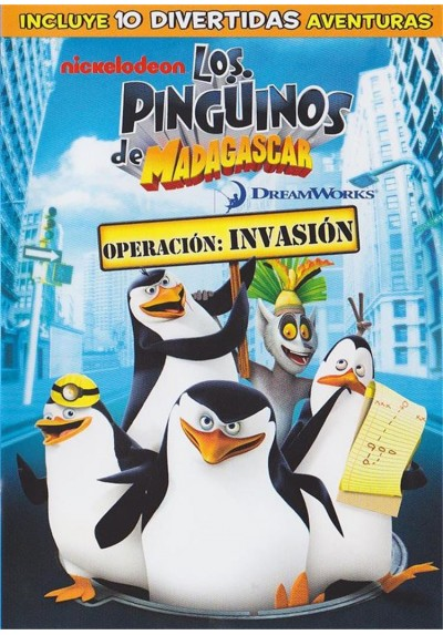 Los Pingüinos De Madagascar : Operacion Invasion (The Penguins Of Madagascar)