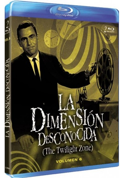 La Dimension Desconocida - Vol. 6 (Blu-Ray) (The Twilight Zone)