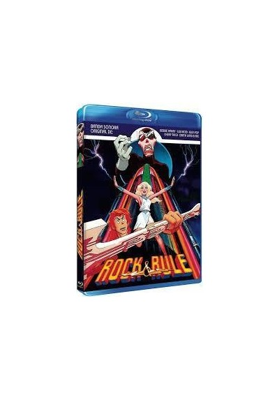Rock & Rule (Blu-Ray)