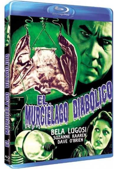 El Murcielago Diabolico (Blu-Ray) (The Devil Bat)