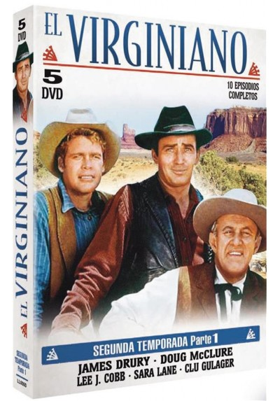 El Virginiano : 2ª Temporada - 1ª Parte (The Virginian)