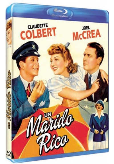 Un Marido Rico (Blu-Ray) (The Palm Beach Story)