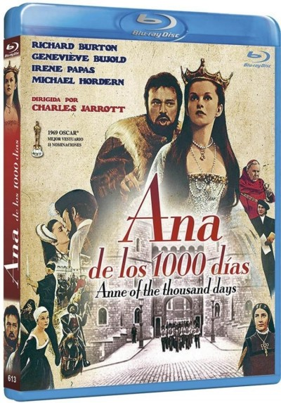 Ana De Los 1000 Dias (Blu-Ray) (Anne Of The Thousand Days)