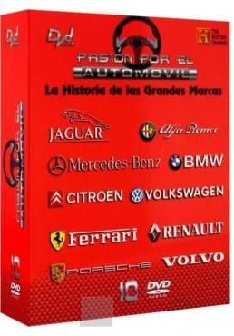 """Pasion por el Automovil """"La Historia de las Grandes Marcas"""""""